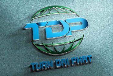 Thiết kế logo công ty điện lạnh Tuấn Đại Phát