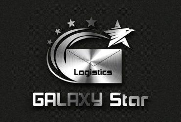 Mẫu logo công ty logistics Galaxy Star