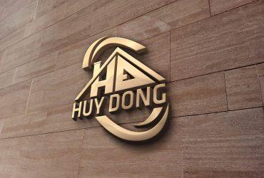 Mẫu logo công ty Huy Đông