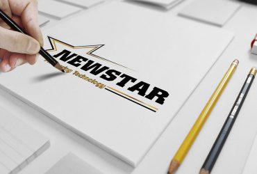 Logo công ty công nghệ NewStart