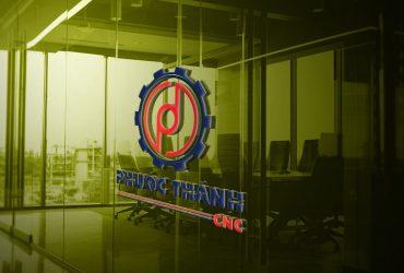 Thiết kế logo công ty cơ khí Phước Thành CNC
