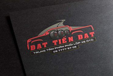 Mẫu logo trung tâm phân phối lốp xe ô tô Đại Tiến Đạt