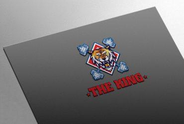 Thiết kế logo phòng Gym The King