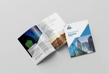 Thiết kế hồ sơ năng lực công ty +100 Mẫu có sẵn