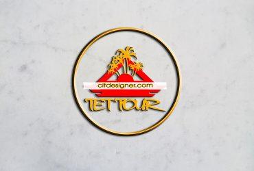 Thiết kế logo Tết Tour