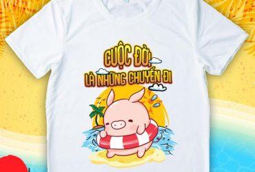 In áo thun theo yêu cầu tại Biên Hòa
