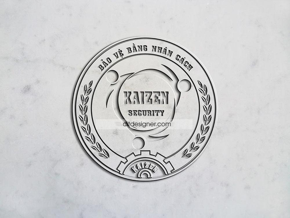 mocup logo bao ve kaizen