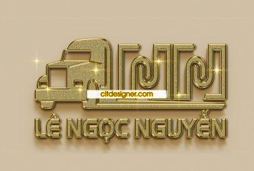 Logo vận tải Lê Ngọc Nguyễn