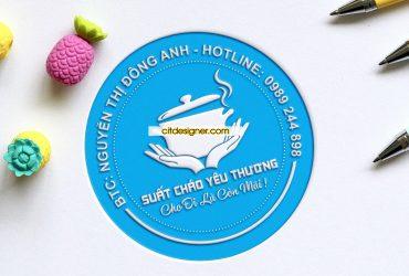Logo hội từ thiện cháo