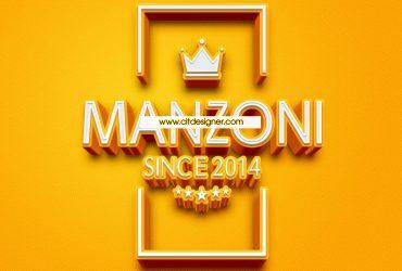 Logo thời trang MANZON