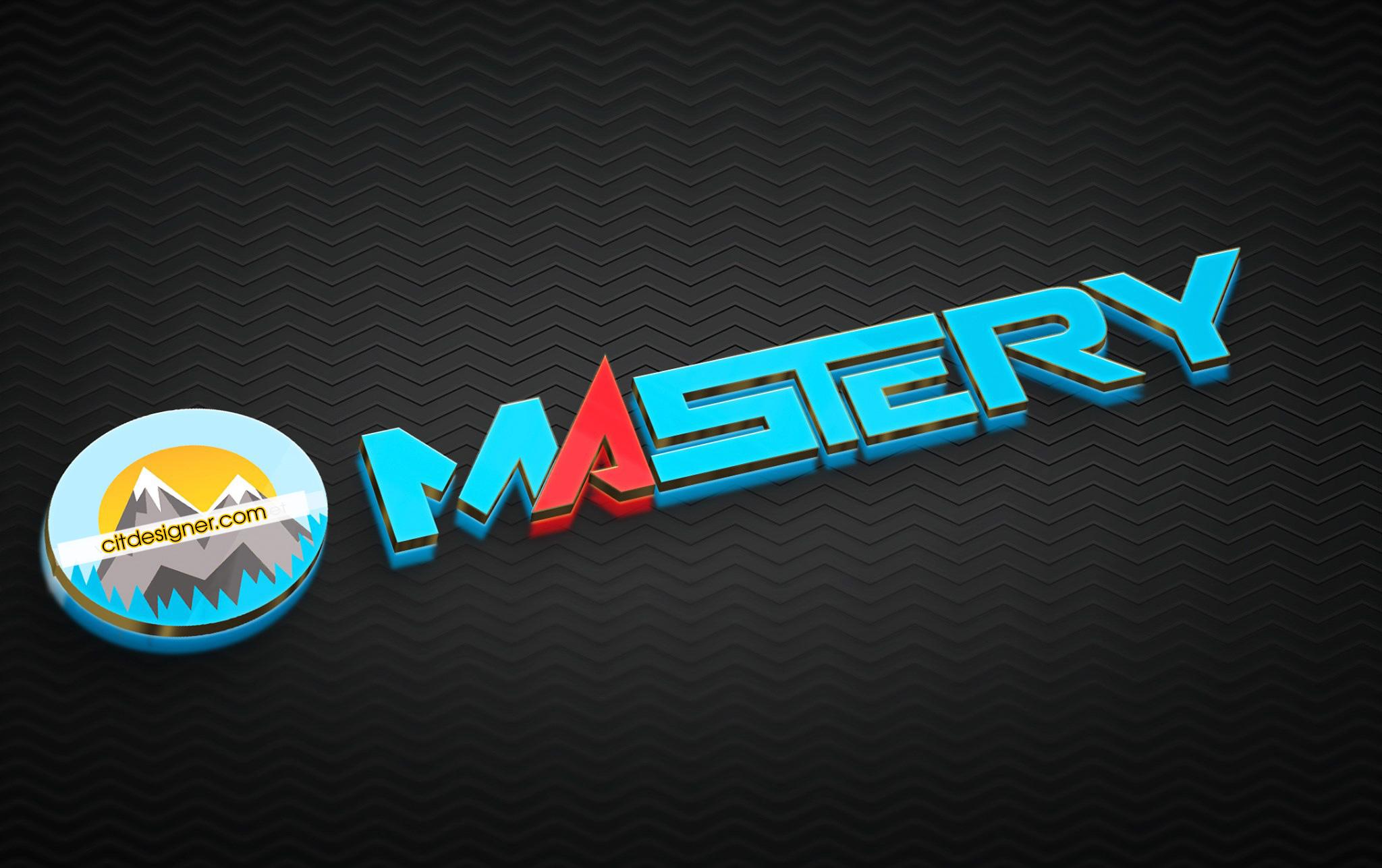thiet ke logo mastery